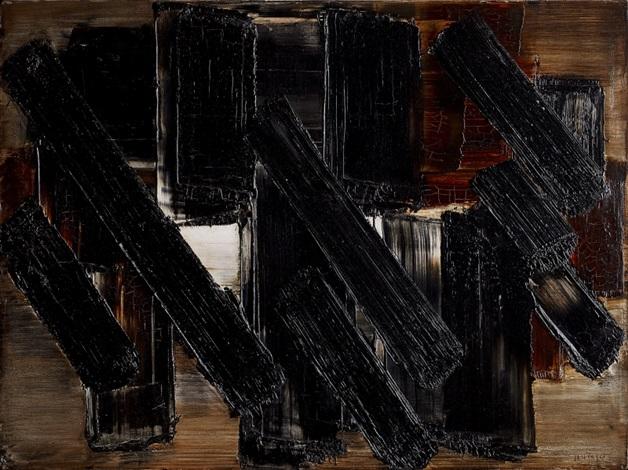 peinture 65 x 81 cm 13 novembre 1956 by pierre soulages