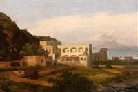 vue prise dans l'île d'ischia près de naples by jean charles joseph remond