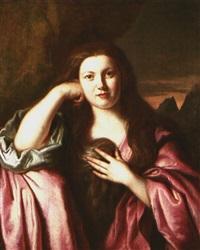 retrato de joven dama by cesar boetius van everdingen