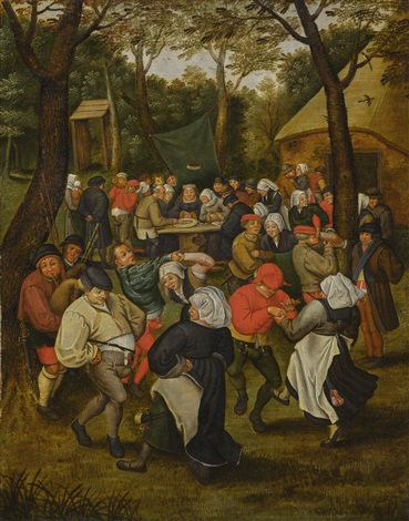 Wedding Dance In The Open Air By Pieter Brueghel Younger