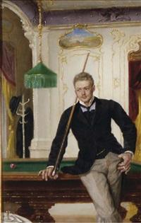 the billiard player by john quincy adams