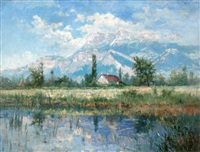 vallée de l'isère et chartreuse by andre albertin