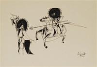 la fiesta de los toros by oswald aulestia