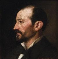 portrait d'homme by basile lemeunier