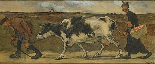 koe en boeren by jules de bruycker
