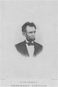 the last photograph of president lincoln taken on the balcony at the white house by henry f. warren