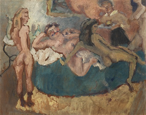 maison close by jules pascin