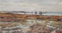 les bateaux huîtriers à cancal (bretagne) by georges fichefet