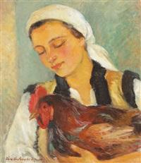 the tuft hen by vera veslovschi nitescu