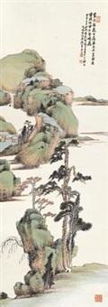 湖山清夏图 by xiao junxian