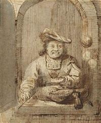 homme à la fenêtre by ferdinand bol