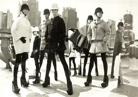 mod fashion nyc by mark seliger