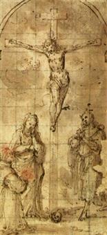 crocifissione by santo peranda