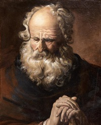 portrait (saint paul?) by joachim von sandrart the elder