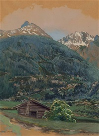 bad gastein by franz leitgeb