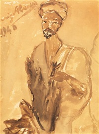 portrait de tunisien by arrigo abeasis