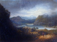 vue du lac lomond en écosse by jean bruno gassies