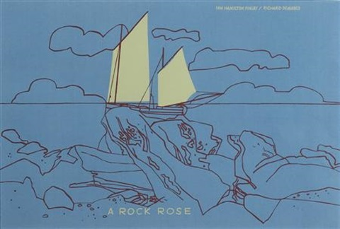 a rock rose by ian hamilton finlay