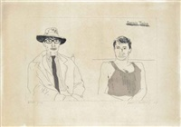 kasmin twice by david hockney