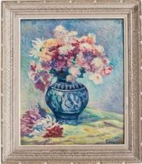 anemones au vase by maximilien luce