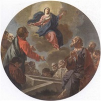 the assumption of the virgin by giuseppe antonio petrini