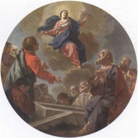 the assumption of the virgin by giuseppe antonio petrini