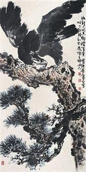 雄鹰图 by liu baochun and xu linlu