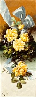 flores con lazo by camoyano