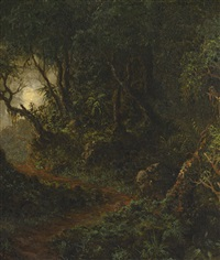 tropical greenery by martin johnson heade