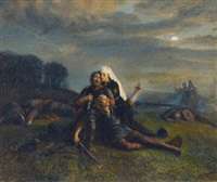 after the battle by peter nicolai arbo
