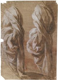 draperie (study) by domenico beccafumi