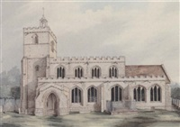 monuments and antiquities in cambridgeshire by thomas fisher