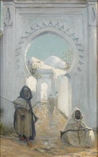 les gardes by henri van melle