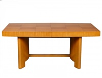 dining table, no. 3725 (in 3 parts) by gilbert rohde