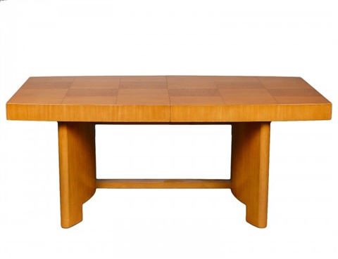Dining table no 3725 in 3 parts by gilbert rohde on artnet for Table 6 in as 3725