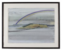 rainbow at cramond by jock mcfadyen