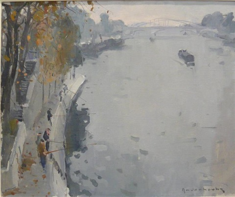 quai de seine by paul jean anderbouhr