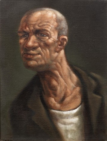 small head by peter howson