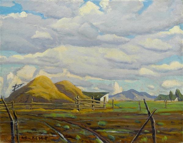 haystacks by arthur hill gilbert