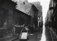 coin de la rue de bièvre by eugène atget