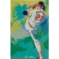jim palmer by leroy neiman