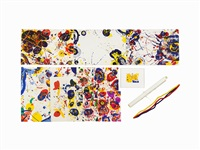 the pasadena box (complete suite of 13 works) by sam francis