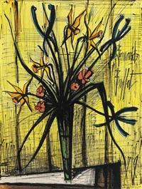bouquet dans un verre by bernard buffet