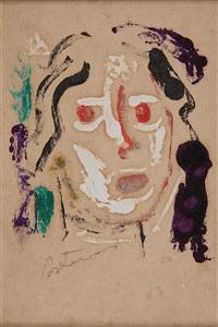 cabeça de mulher by candido portinari