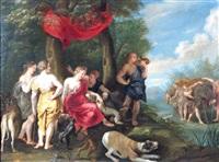 le départ de diane chasseresse by flemish school (17)