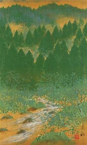 kitayama gorge by zenjiro uda