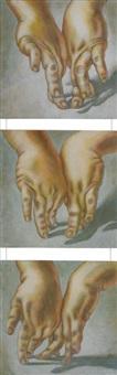 rita may iii (triptych) by kim spooner