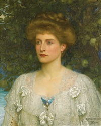 portrait of susannah pearson by frank dicksee