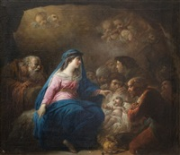 l'adoration des bergers by jacques gamelin