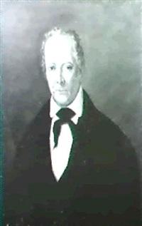 portrait of a man by francois fleischbein